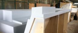 Modelleria Nicoletto; TL Compositi; stampo one off; one off mould; carbon infusioni; carbon light rum