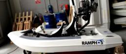 Ramphos advance; Amphibious boat; aircraft boat; barca volante; barca anfibio; Rotax 582