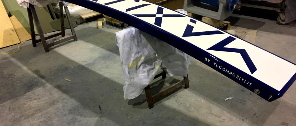 TL Compositi; Stampo one off passerella; passerella custom; passerella carbonio; carbon gangway; custom gangway