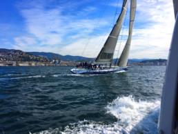 Maxi Jena; Barcolana 2016; Carbon Yacht; canting keel; deriva mobile; deriva basculante