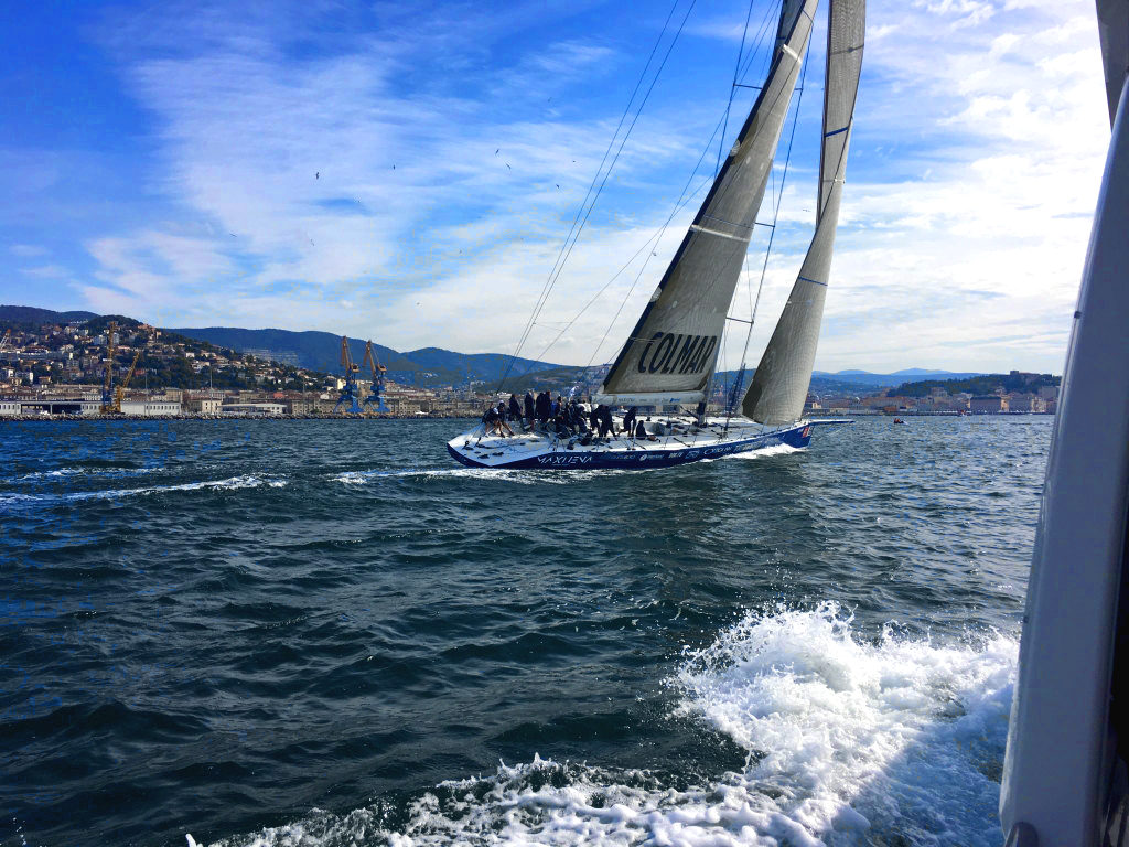 Maxi Jena; Barcolana 2016; Carbon Yacht; canting keel; deriva mobile; deriva basculante