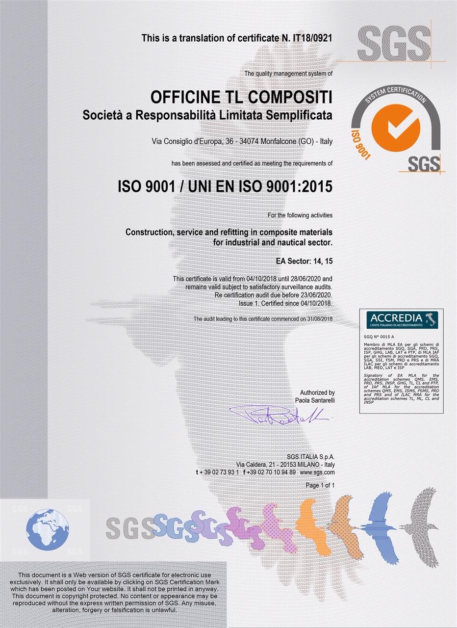 Officine TL Compositi; compositi Italia; carbonfiber