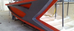 Hard Top mold; Hard top mould; stampo GRP; stampo Hard Top; Otam 65 Hard top