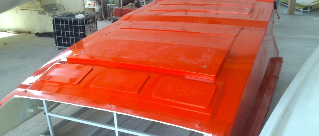 Hard top stampo