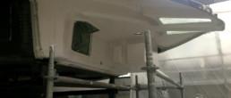 bow box; anchor locker; carbon locker; vano salpa ancora
