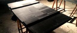 compositi Italia; Carbon swim platform; custom swim platform; Spiaggetta carbonio; spiaggetta custom