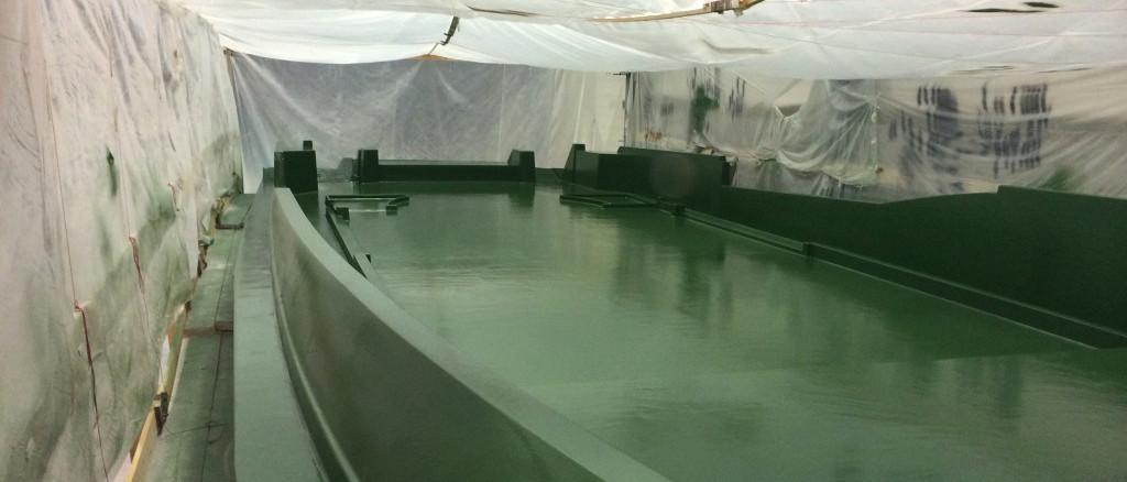 fibra di carbonio Friuli; Deck mould; Deck mold; stampo coperta