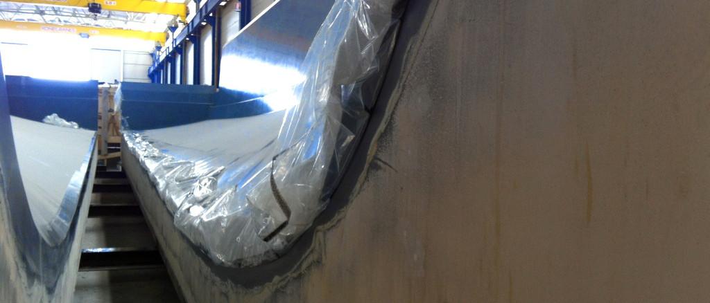 fibra di carbonio Friuli; Wood mould; wood mold; one-off mould; One-off mold; stampo in legno per materiali compositi; Stampo in legno