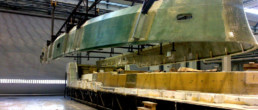 fibra di carbonio Friuli; Deck creddle; supporto coperta;