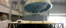 fibra di carbonio Friuli; Motor Yacht deck demoulding; Motor Yacht dock demolding; coperta motoscafo; infusione coperta motoscafo; estrazione coperta da stampo; estrazione coperta motoscafo da stampo; deck infusion