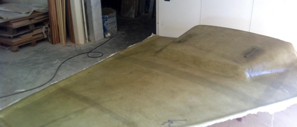 fibra di carbonio Friuli; Ceiling lamination; GRP ceiling; inner liner; ceiling lamination; ceiling liner; laminazione celino; laminazione cielino; soffitto vetroresina; soffitto GRP; soffitto materiali compositi