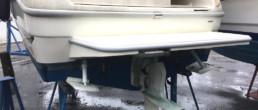 Officine TL Compositi; fibra di carbonio Friuli; compositi; compositi Italia; Custom swim platform; Spiaggetta custom; Spiaggetta di poppa
