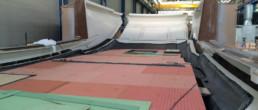 fibra di carbonio Friuli; TL Compositi; Core superstructure; superstructure infusion; fly bridge infusion; carbon fly bridge; carbon superstructure; infusione carbonio; infusione superstructure carbonio; core per infusione; sandwich GRP; sandwich carbon