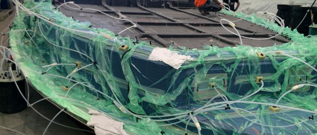 fibra di carbonio Friuli; Motor yacht dock infusion; Motor Yacht dock light-rtm;Carbon infusion; Composite infusion; epoxy infusion; infusione epossidica; infusione carbonio; light-rtm carbonio; infusione coperta motoscafo; Infusione imbarcazione