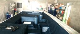 fibra di carbonio Friuli; Deck infusion; One off deck infusion; Carbon infusion; carbon deck; infusione carbonio; infusione coperta carbonio; infusione coperta carbonio one off; infusione one off