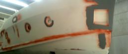 fibra di carbonio Friuli Venezia Giulia; Hull fairing; carrozzeria scafo