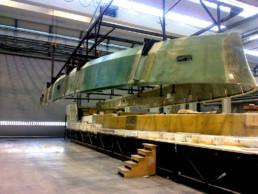 fibra di carbonio Friuli Venezia Giulia; Template for deck; Deck support; supporto coperta; dima grp; GRP template