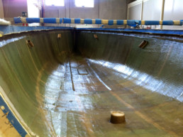 compositi Italia; fibra di carbonio Friuli Venezia Giulia; wet lay up; laminazione manuale; laminazione tradizionale; Scafo vetroresina; GRP hull