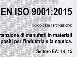 fibra di carbonio Friuli; compositi Friuli; compositi Italia; Italian composites; certificazione-UNI-EN-ISO-9001-2015-TL-Compositi; compositi
